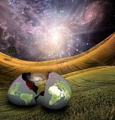 Earth egg is hatched