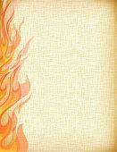 Fire grunge background