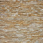 picture of wall-stone  - stone wall pattern natural surface - JPG