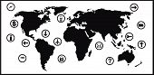 Business And World Map