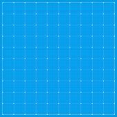 Wide Blueprint Background. Square Blueprint Background. Vector Stock Illustration. poster