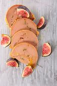 foie gras and fig poster