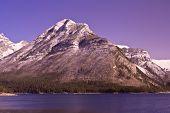 Mount Aylmer At Banff