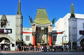 LOS ANGELES - OCTOBER 16: Grauman's Chinese Theatre on October 16, 2011 in Los Angeles, CA. There ar