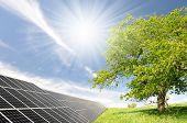 Solarenergie-Paneele