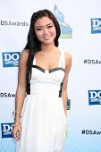LOS ANGELES - AUG 19:  Jessica Lu arrives at the 2012 Do Something Awards at Barker Hanger on August