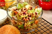 Black eyed Pea Salat
