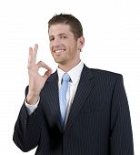 Man Showing Ok Sign