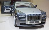 GENEVA - MARCH 8: The Rolls Royce Phantom Spirit on display at the 81st International Motor Show Pal