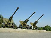 Three Big Cannons