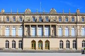 The Herrenchiemsee Palace (New Palace) is the most famous castle and the largest of King Ludwig II o