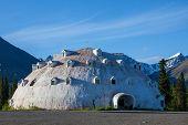 igloo on Alaska