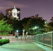 Riverwalk in Downtown Augusta, Georgia. The city is the second most populous in the state with nearly 200,000 residents.