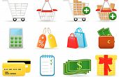 Icon Set Shopping