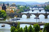 picture of bohemia  - View of Prague - JPG