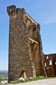 Ruined Castle In Ch�teauneuf-du-Pape