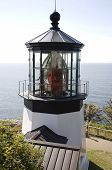 picture of mear  - Lighthouse at Cape Meares Oregon - JPG