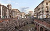 Roman Amphitheatre In Catania