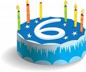 Sixth Birthday Cake