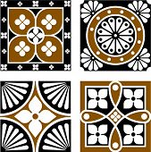 picture of neo  - Vintage ornamental patterns derived from the Neo - JPG
