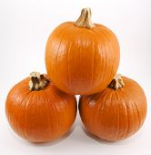 Stack Of Three Pumpkins