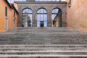 Rome Stairway