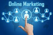 Pressing Online Marketing Icon