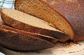 Wholemeal bread.