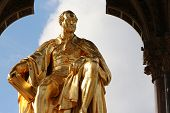 Prince Albert golden statue