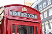 London's telephone box