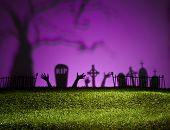 Paisagem de Halloween