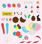 Vector Set: Candy Pieces