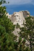Abraham Lincoln At Mt Rushmore
