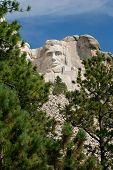 Abraham Lincoln At Mt Rushmore