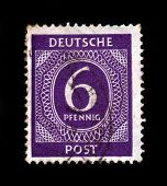Old Postage Stamp, Germany