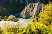Verdon Gorge in autumn, Provence, France