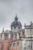 St Aubin's Cathedral, In Namur, Belgium.