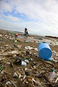 Dump Dirt Disaster On The Beach