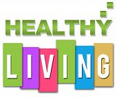 Healthy Living Professional Colourful