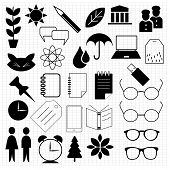 stock photo of nouns  - A collection of varied original icon designs - JPG