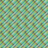 Vector multicolor modern version of houndstooth