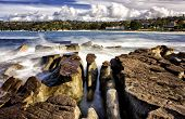 Rocks and waves, Balmoral Beach, Sydney