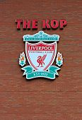 Liverpool, Uk, April 21St 2012. Liverpool Football Club Crest,