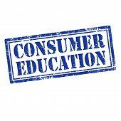 Consumer Education-stamp