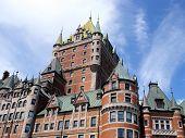 Frontenac Castle, Quebec, Canada.