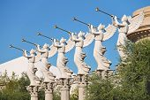Statues Of Cherubs In Caesar's Palace   In Las Vegas