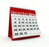 December 2014 calendar