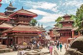 Entrance To Durbar Square
