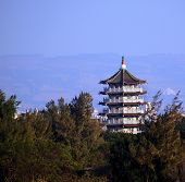 Large Pagoda In Central Taiwan