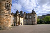 EDINBURGH - MAY 28: Palace of Holyroodhouse, official residence of the Monarch of the United Kingdom